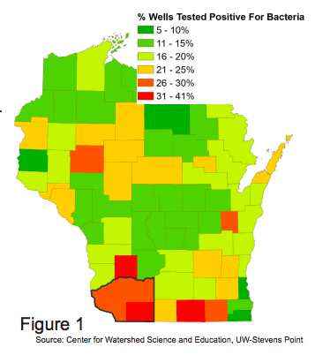 Southwest Wisconsin private well data alarming