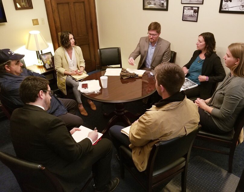 Meeting with congressional staff on Great Lakes issues